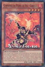 Yu-Gi-Oh ! Carte Confrérie du Poing de Feu - Gorille CT11-FR003 - VF/Super rare