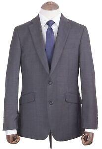 Costume homme Thomas Nash Bleu Marine Coupe Ajustée 48R W42 L31