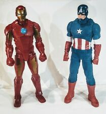 "Giant Sized Marvel Titans Iron Man & Captain America Avenger 20""inch"