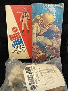 1974 Mattel Big Jim Terror off Tahiti With Giant Clam And Lost Treasure Sealed