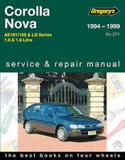 Toyota Corolla AE101/AE102 1994-1999 Workshop Repair Manual with MPN GAP04271