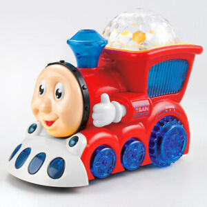 Bump N Go Train With Flashing Light And Music Sound Toddler Toy Gift