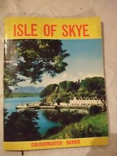"""vintage """"Colourmaster Series"""" guide book to The Isles of Skye"""