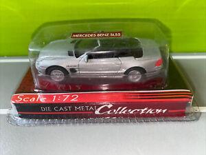 Yat Ming 1/72 1:72 Die Cast Metal Car In Packaging Unopened Mercedes Benz SL55