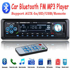 1 DIN Car Radio MP3 Player Remote control AUX USB TF Bluetooth Stereo FM Audio