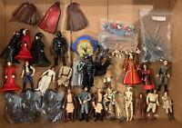 """Star Wars 3.75"""" Action Figures, Accessories Parts / Weapons Huge Lot  Unique 98"""