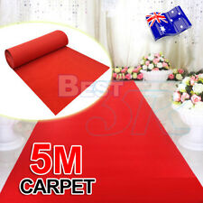 Red Carpet Runner Hollywood Awards Night Casino Decoration Party Wedding 5*1m
