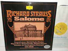 2721 186 Richrd Strauss Salome Hamburgischen Staatsoper Karl Bohm 2LP Box Set