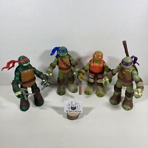 Large Teenage Mutant Ninja Turtles TMNT Action Figure Heros 2012 Viacom Weapons
