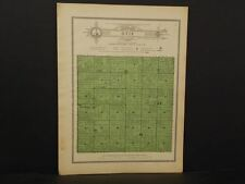 Nebraska Hamilton County Map Otis Township  1916 W7#02