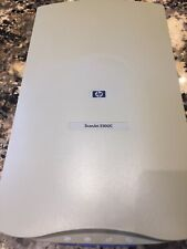 HP ScanJet 5300C Scanner Flat Bed C7690B Color and Black and White USB