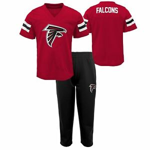 Outerstuff NFL Toddlers (2T-4T) Atlanta Falcons Training Camp Top and Pants Set