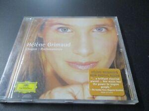 "CD ""CHOPIN / RACHMANINOV : Pianos, Sonatas, etc"" Helene GRIMAUD"