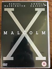 Denzel Washington MALCOLM X | Spike Lee 1992 Black Civil Rights Epic Rare UK DVD