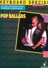 Partition clavier basse - Spécial clavier - Pop ballades - En Allemand