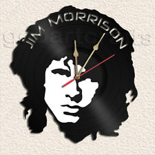 Jim MORRISON Vinyl Record Clock Home Decoration
