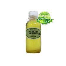 4 Oz Premium Rice Bran Oil Pure Organic Cold Pressed Best Fresh Multi Purpose