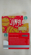 Starbucks 2018 Jingle Gift Card No Value Limited Edition Mint
