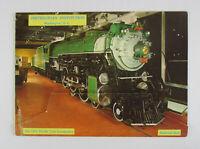 Vintage 1960s SMITHSONIAN INSTITUTION Museum Souvenir Color Picture Folder train