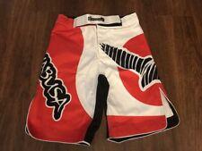 Hayabusa Chikara Performance MMA Shorts - Red Large (34) - Free Shipping
