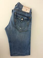 "True Religion Section Jack QT men's Slim Leg Jeans, W30"" L34"" Denim Blue, Vgc"