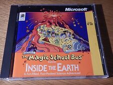 The Magic School Bus Explores Inside The Earth PC CD Computer Science Game Win95