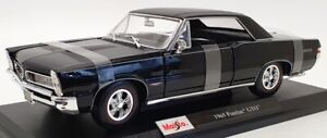 Maisto 1/18 Scale Model Car 46629N - 1965 Pontiac GTO - Black