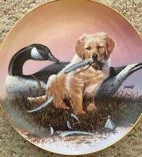"Collectors Plate, "" Golden Memories "" by Phillip Crowe .The Danbury Mint"