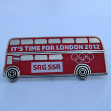 2012 London Summer Olympic SRG SSR Media Pin
