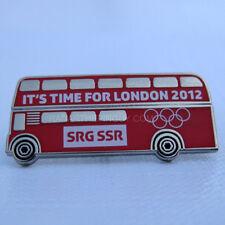 2012 London Summer Olympic SRG SSR Media Pin
