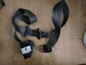 GENUINE LAND ROVER  DISCOVERY I RH FRONT SEAT BELT  OEM BTR7766LNF