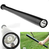 Baseball Bat LED Flashlight Long Torch Emergency Security Self Defense 3 mode