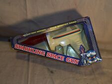 Vintage Sparking Space Gun Ray Gun Pistol with Space Shooting Sound