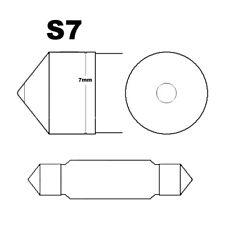 20 X Coche Lámpara Tubular S7 T8 X 31 C5W 5W Festón 31mm Bombilla 12V