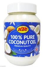 KTC 100% Pur Noix De Coco Huile-Comestible, Cuisine, Cheveux & Peau Soin Hydratant - 500 ml