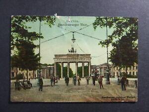 AK Ansichtskarte Postkarte, Berlin, Brandenburger Tor 1988