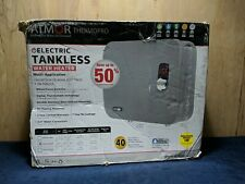 Atmor ThermoPro Digital Thermostatic Tankless Electric Instant Water Heater,