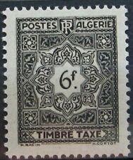 ALGERIE Taxe 42 - Neuf** sans charniere