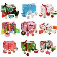 Bomb Cosmetics Wrapped Christmas Xmas Gift Pack Set Handmade Soap Bath Bomb