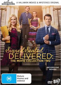 Signed, Sealed, Delivered : Movie Collection 2 (DVD, 5-Disc) Sealed R4 Hallmark