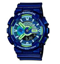 Casio G Shock * GA110MC-2A Anadigi Multi Color Dial Blue Gshock COD PayPal