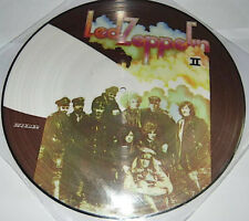 LED ZEPPELIN, LED ZEPPELIN II, MEGARARE AUTH OFF PICTURE DISC, SPAIN 2009 (NEW)