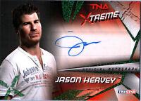 TNA Jason Hervey 2010 Xtreme GREEN Authentic Autograph Card SN 1 of 25