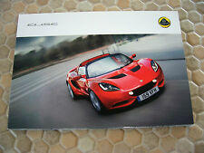 LOTUS ELISE EXIGE EVORA ESPRIT ELAN ELITE POSTCARD FOLDER BROCHURE USA 2011