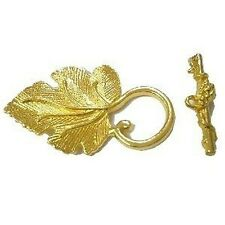 3 Sets Gold Tone Alloy Large Toggles Clasps - A6423