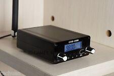 76-108Mhz Home FM TRANSMITTER+ Antenna+Power Supply [CZE-05B]- (Black)