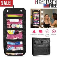 US Travel Cosmetic Makeup Toiletry Case Wash Organizer Storage Hanging Bag Pouch