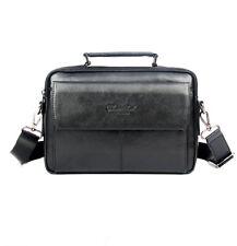 Business Leather  Men Messenger Bag Handbag Travel Briefcase Shoulder Tote Pack