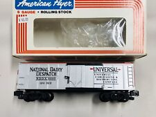 American Flyer 48805 National Dairy Despatch Insulated Box Car Exc OB S Gauge