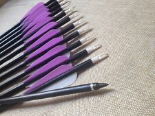 CDRIC Archery 12PCS 32 inch fiberglass arrows  recurve archery hunting target